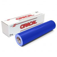 Oracal 651 Glossy Permanent Vinyl 12 Inch x 6 Feet - Brilliant Blue