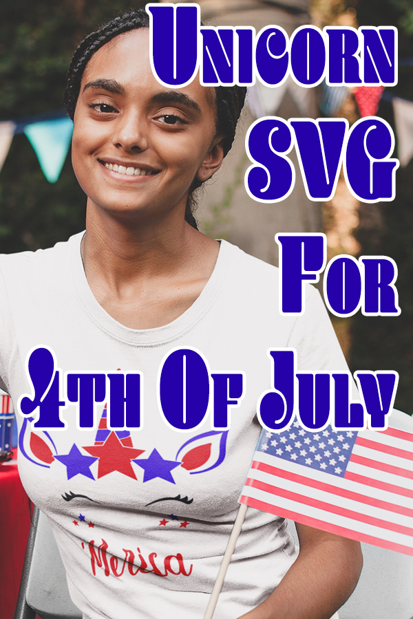 I have been looking all over for something to wear for the 4th of July. Something that I can make myself using my Cricut Machine. That's when I came across this super cute Unicorn SVG. #cricut #freesvg #cricutprojects #freecutfile #fourthofjuly
