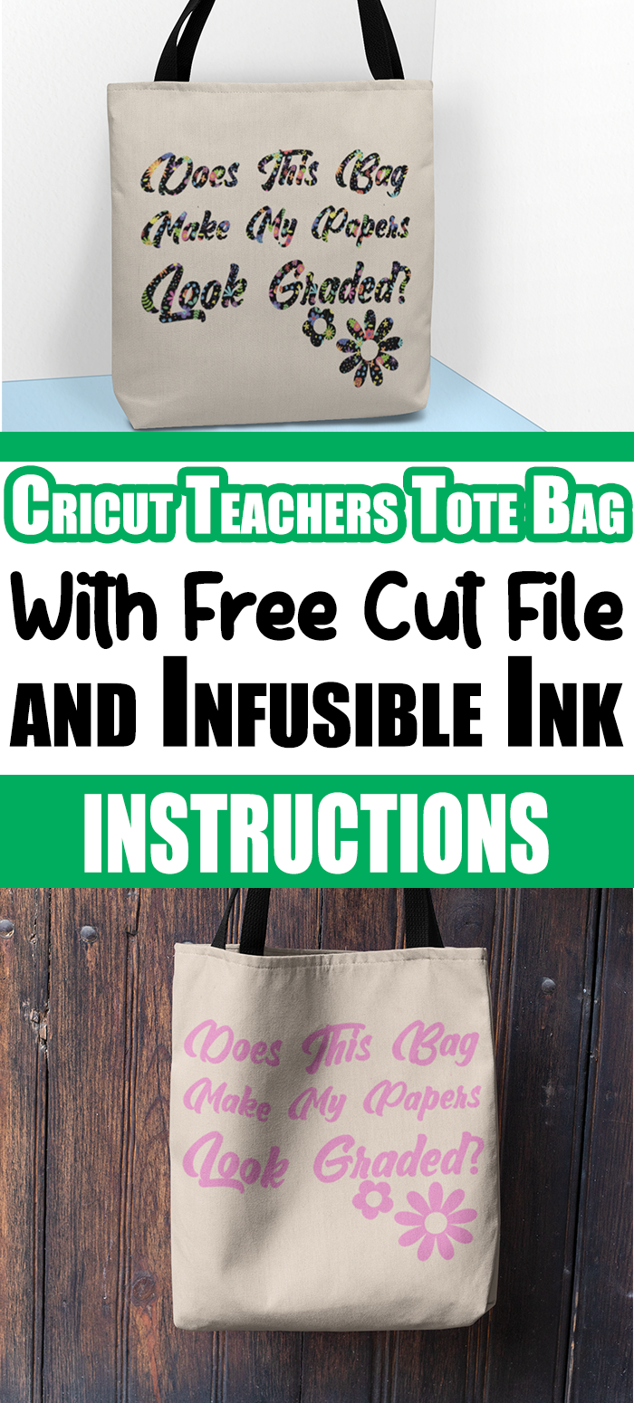I am always saying, teachers need love too. And that is exactly what I'm doing with this Cricut Infusible Ink Back To School Teachers Tote bags. #teacherstotebags #infusibleinks #cricut