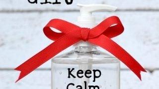 DIY Simple Teacher Gift - Keep Calm And Teach On - TheSuburbanMom