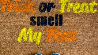 How To Make A Fall Doormat