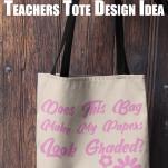 teachers tote bags