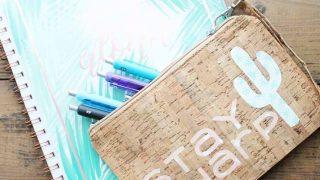 Custom Pencil Case with Your Cricut Machine