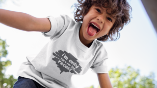 Infusible Ink T-shirt Idea| I'm Just Here For The Recess - Color Me Crafty