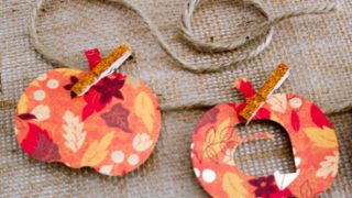 Cricut Crafts: Fall Banner With Pumpkins Paper Crafts