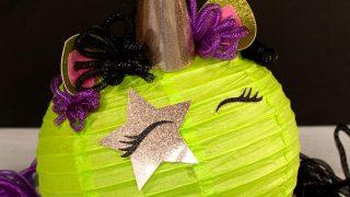 Halloween Unicorn Lantern DIY - Frog Prince Paperie