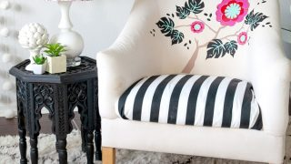 How to Iron Cricut Vinyl onto Upholstery - Frog Prince Paperie
