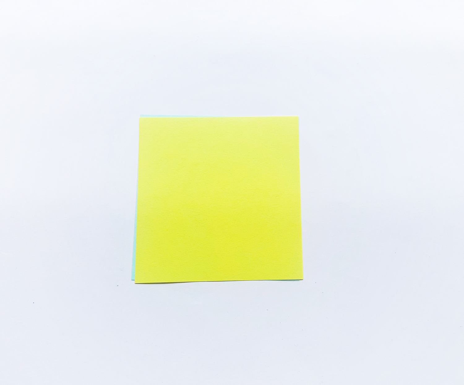 square yellow paper