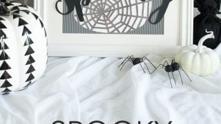 Spooky Halloween Art - DIY Halloween Decor
