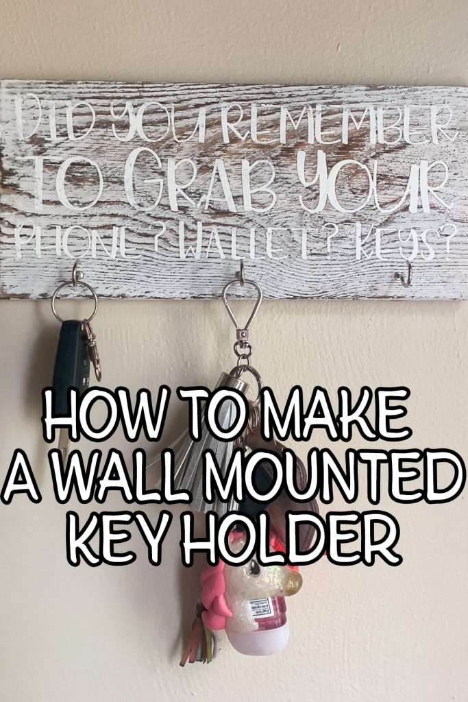 Wall Mounted Key Holder - Pin Image