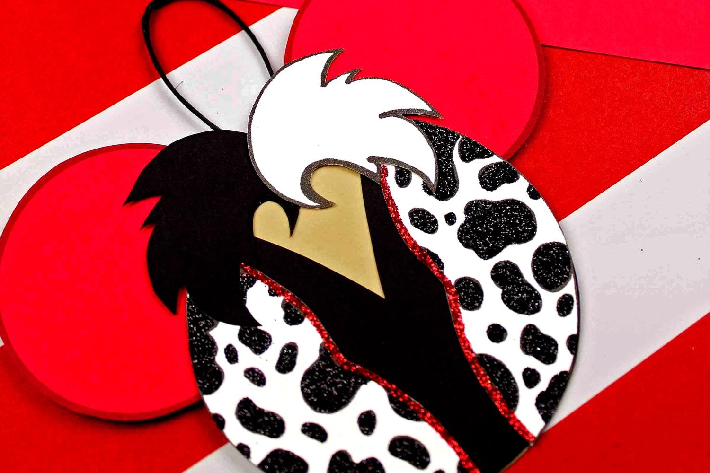 cruella 101 dalmatians ornaments
