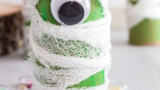 How to Make a Toilet Paper Roll Preschool Mummy Craft