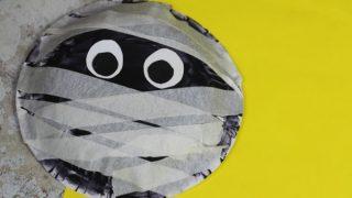 Paper Bowl Mummy Craft