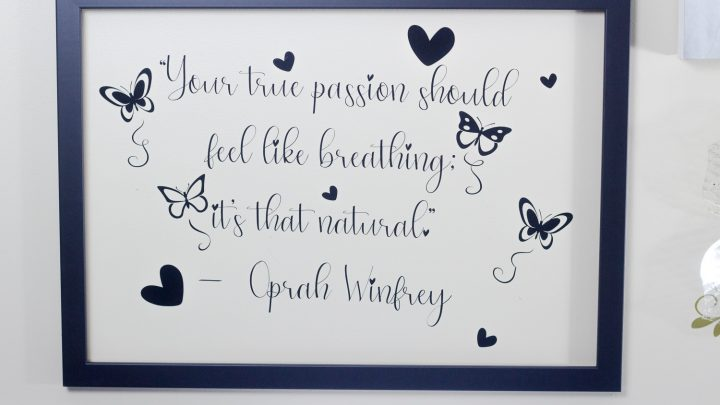 Cricut DIY Wall Decor