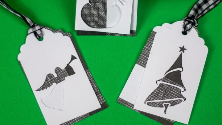 Easy Cricut Christmas Gift Tags