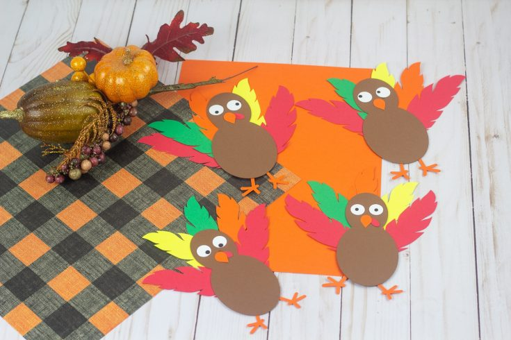 How To Make A Paper Turkey