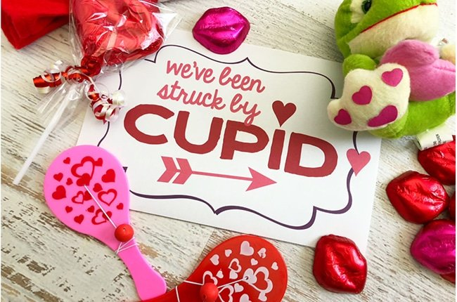 You've Been Cupid Struck Neighborhood Valentine Game