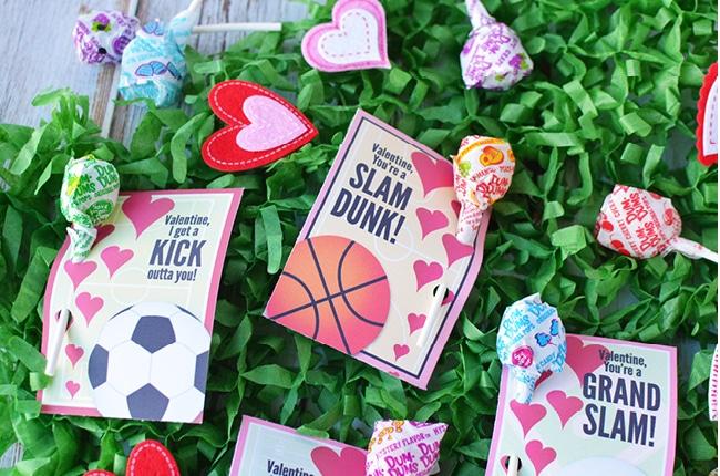 Sports Valentine Cards