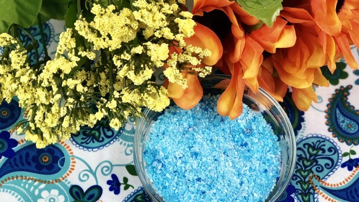 diy epsom salts bath