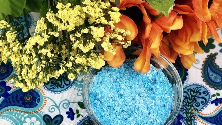 Make Your Own Epsom Salt Bath