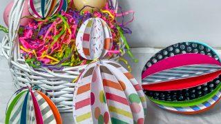 easter egg paper craft for kids