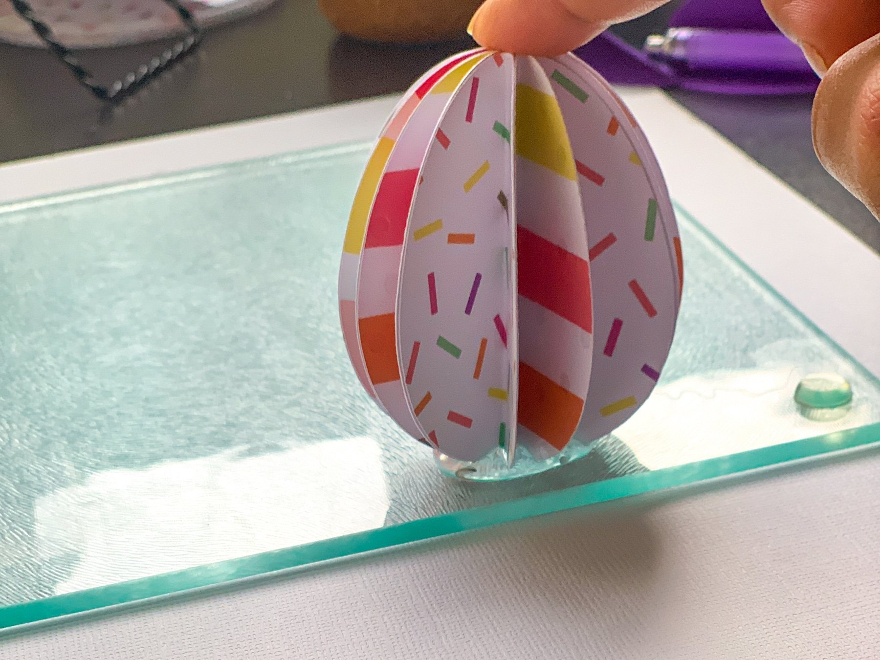 how to make a paper easter egg craft for kids how to make the base