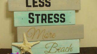 Beachy Farmhouse Sign
