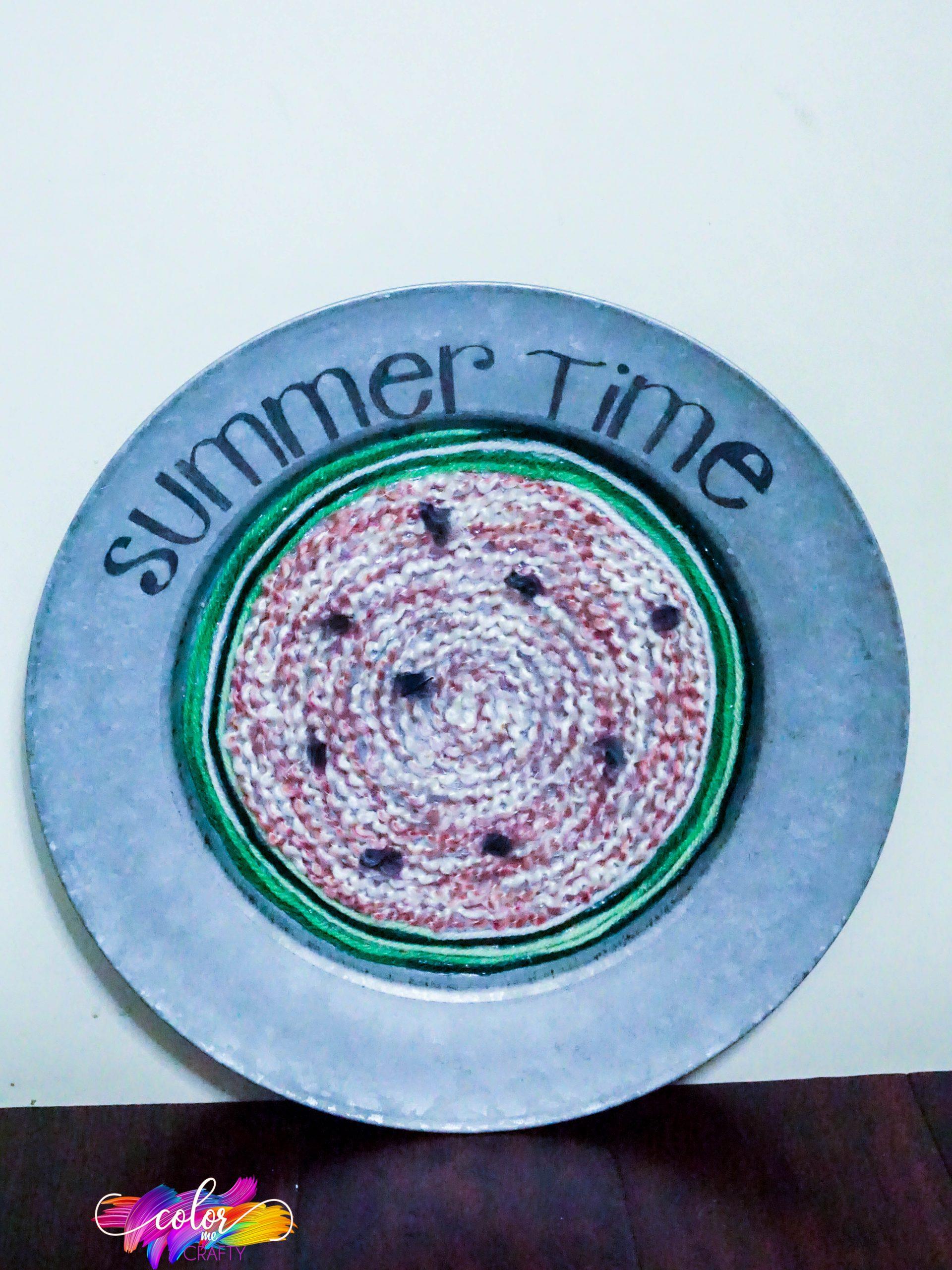 easy summer wreath craft