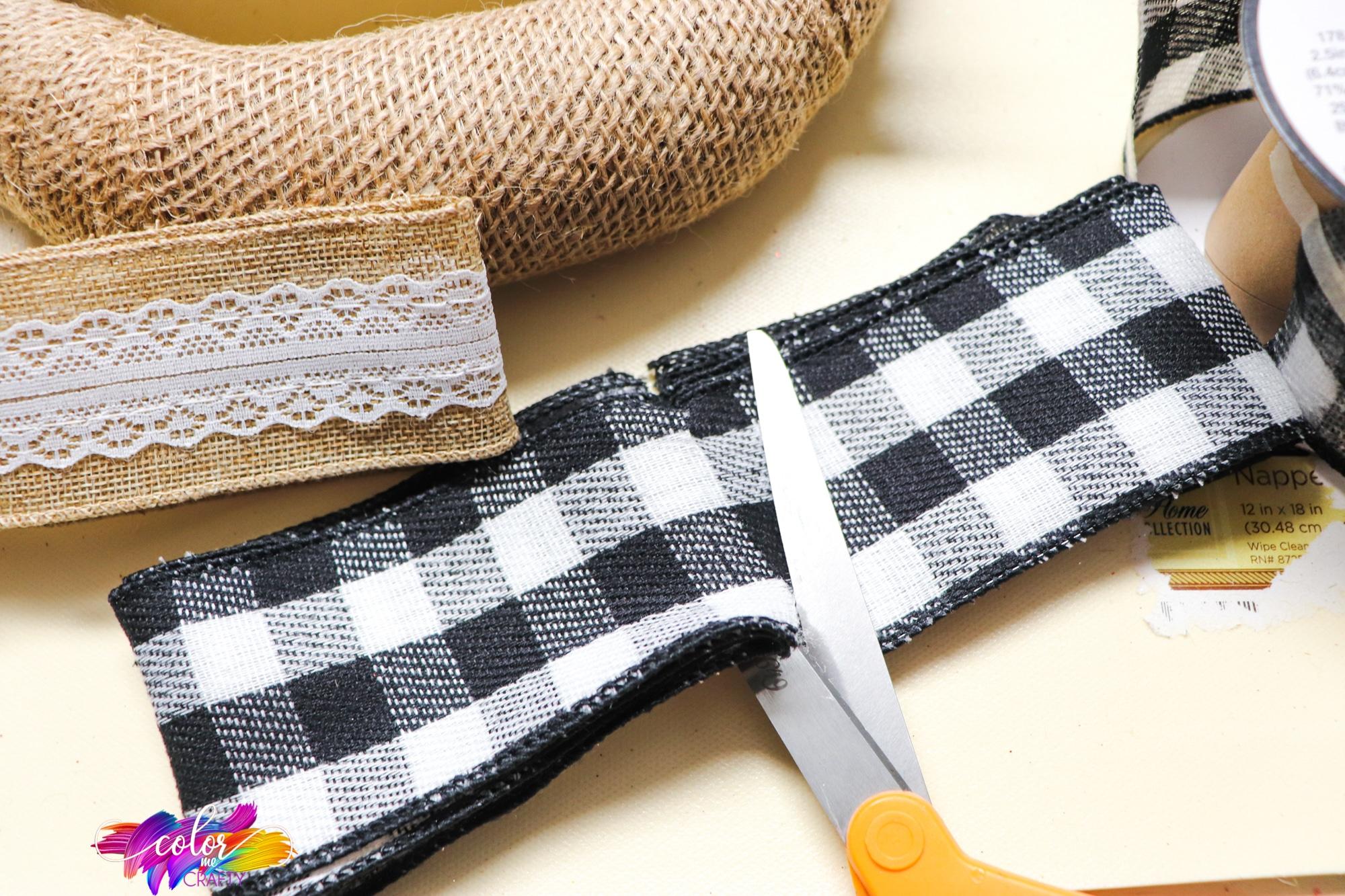 easy ribbon bow tutorial