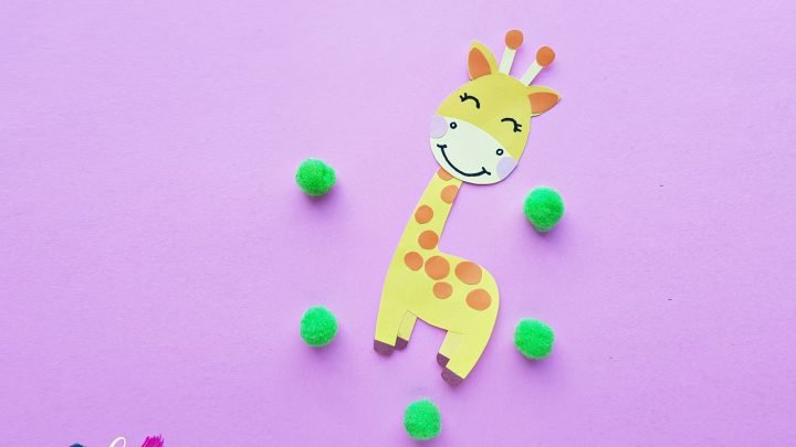 How To Make A Cute Paper Giraffe