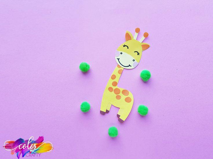 How To Make A Cute Paper Giraffe