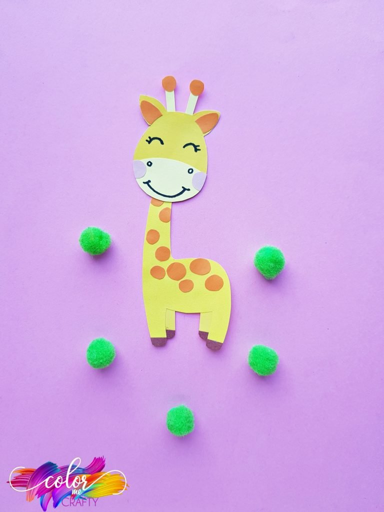 giraffe made out of paper