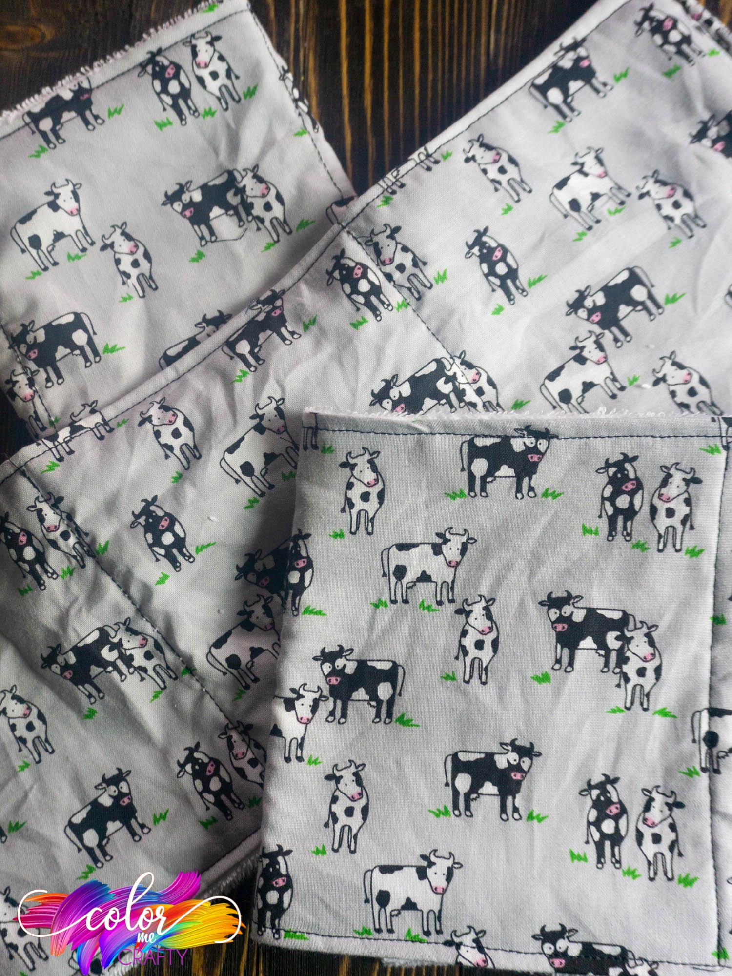 homemade Burp Cloth Pattern