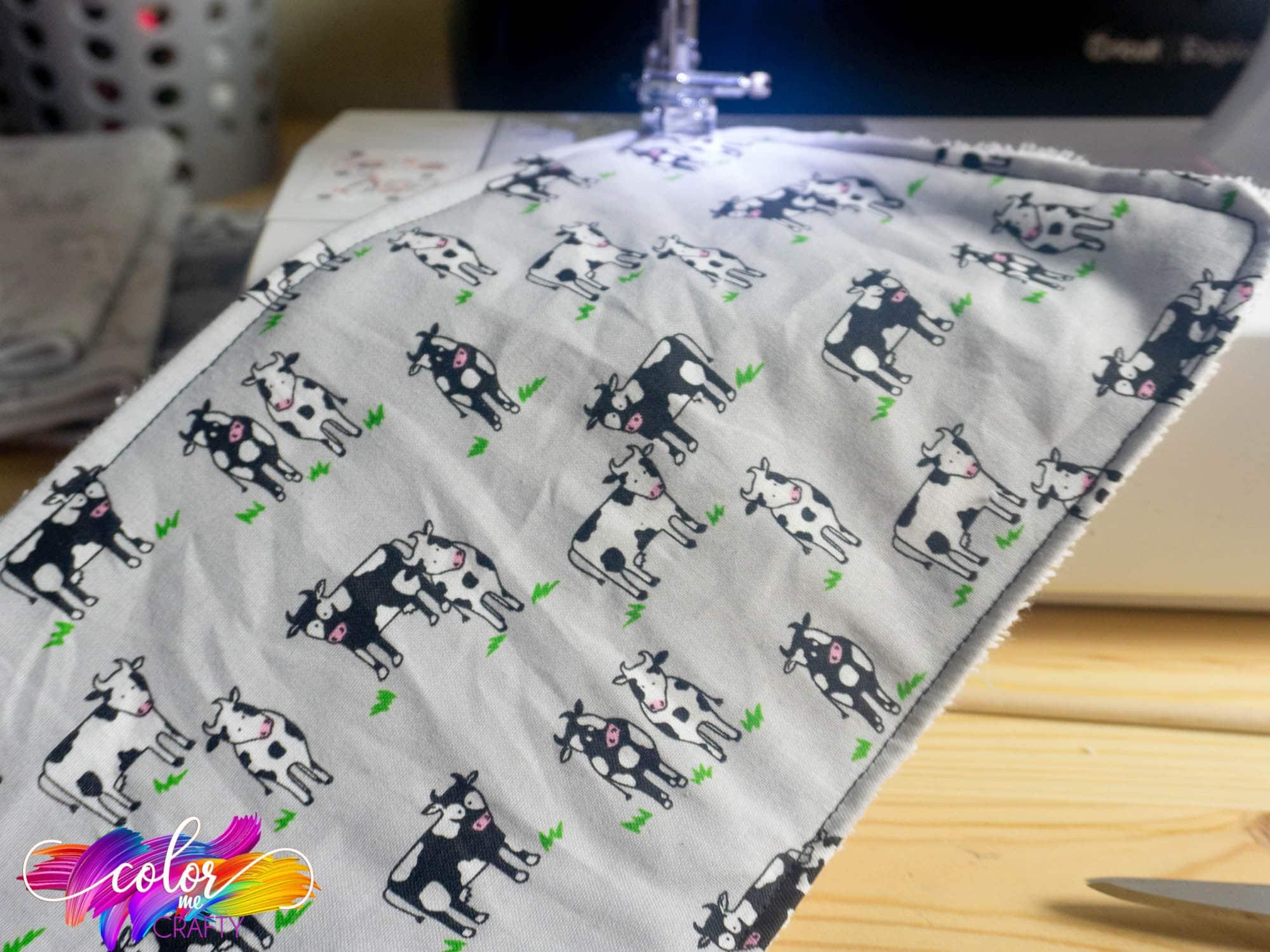 baby burp cloth diy idea