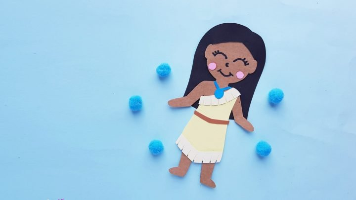 Disney Princess Pocahontas Paper Doll Craft