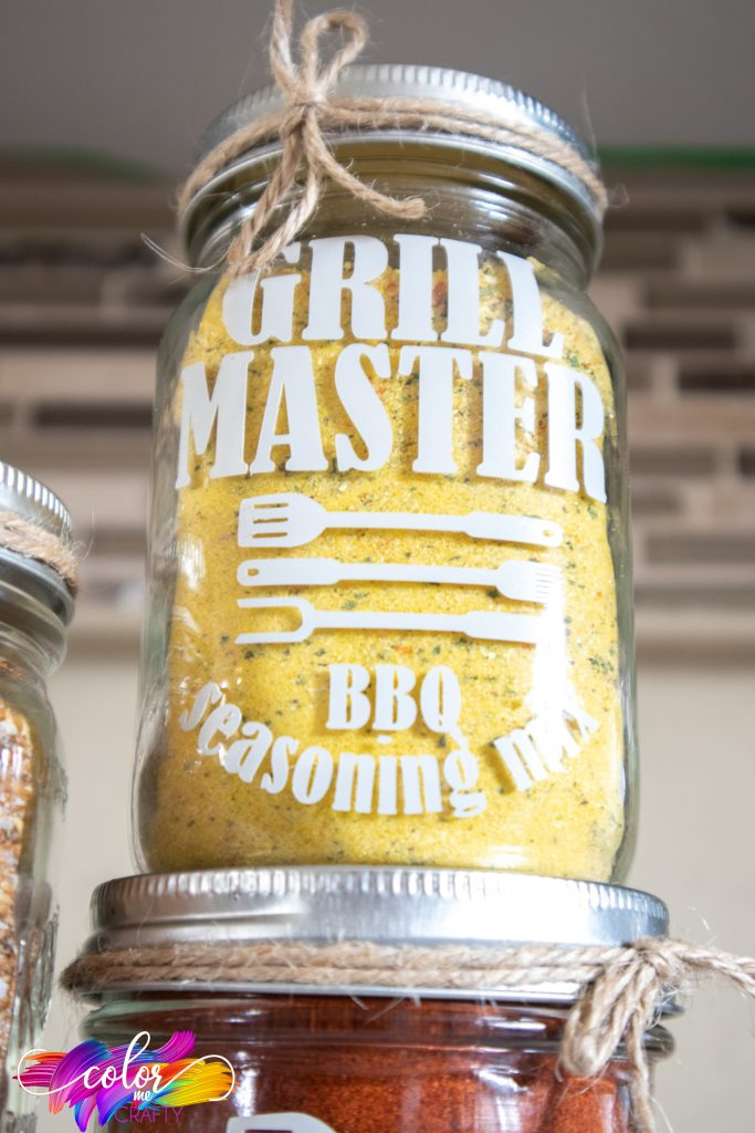 grill master dry rub jar