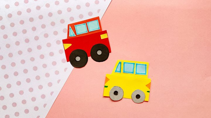 How To Make A Paper Car For Preschoolers