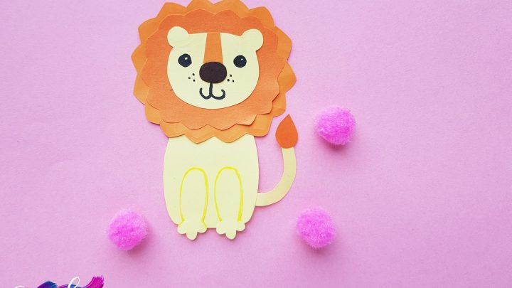 Easy Paper Lion