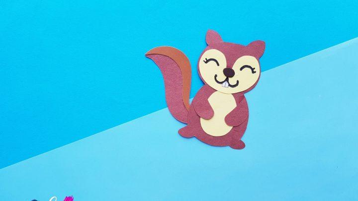 Adorable Paper Squirrel Craft