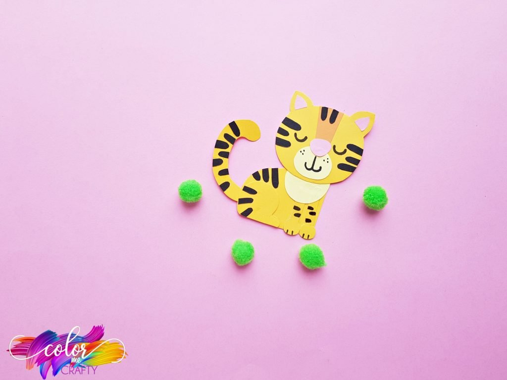 sleeping paper tiger craft