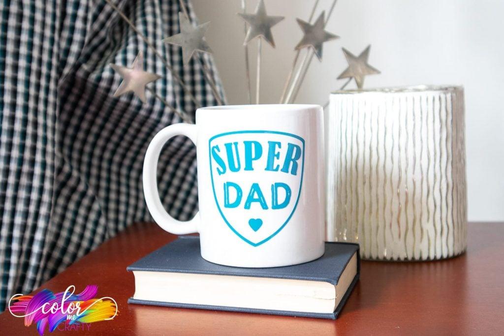 father's day mugs with cricut joy