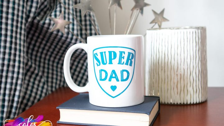 Father's Day Mugs With The Cricut Joy