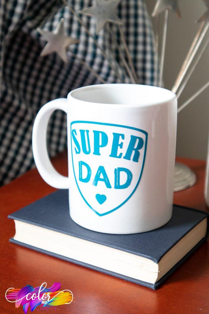 cricut joy; father's day mugs