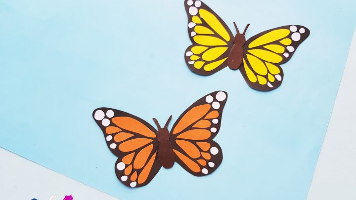 How To Make A Paper Monarch Butterfly