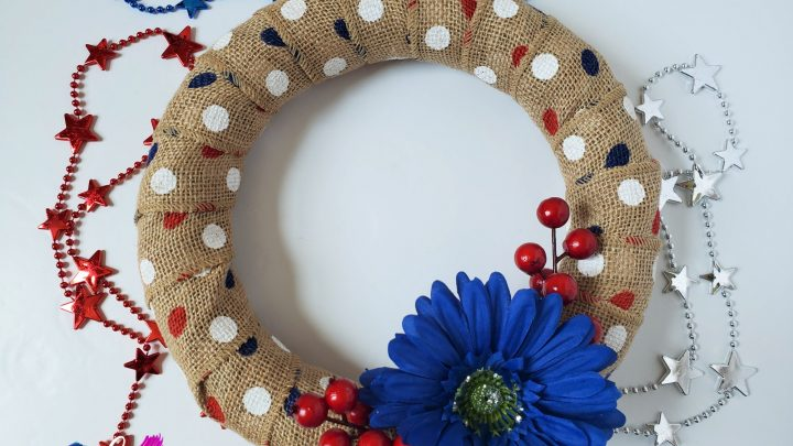 Easy Fourth Of July Wreath