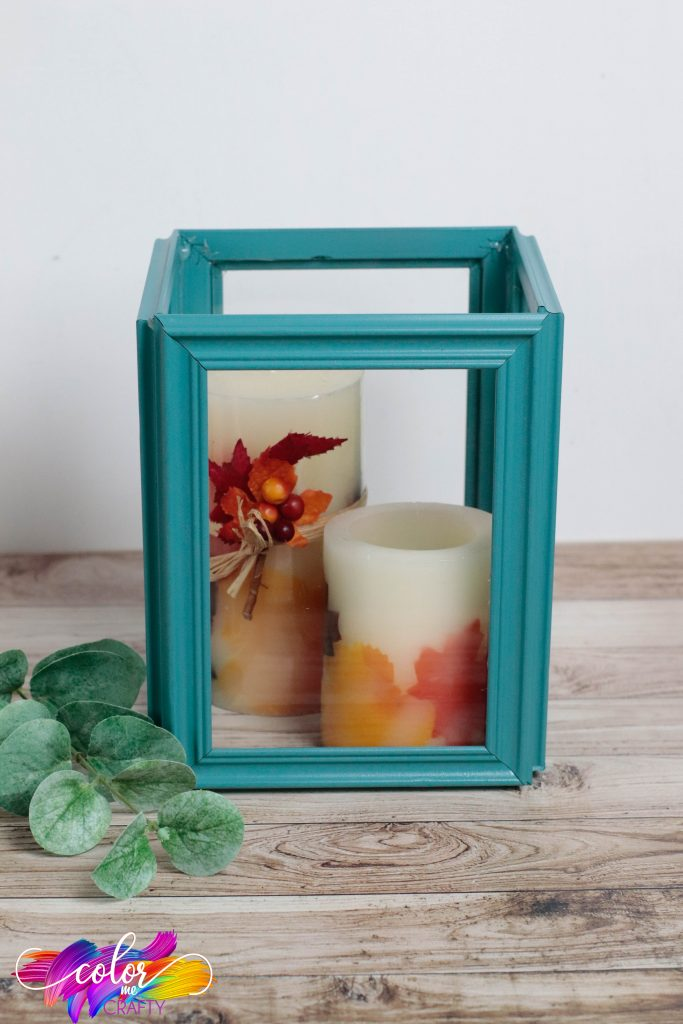 picture frame candle holder