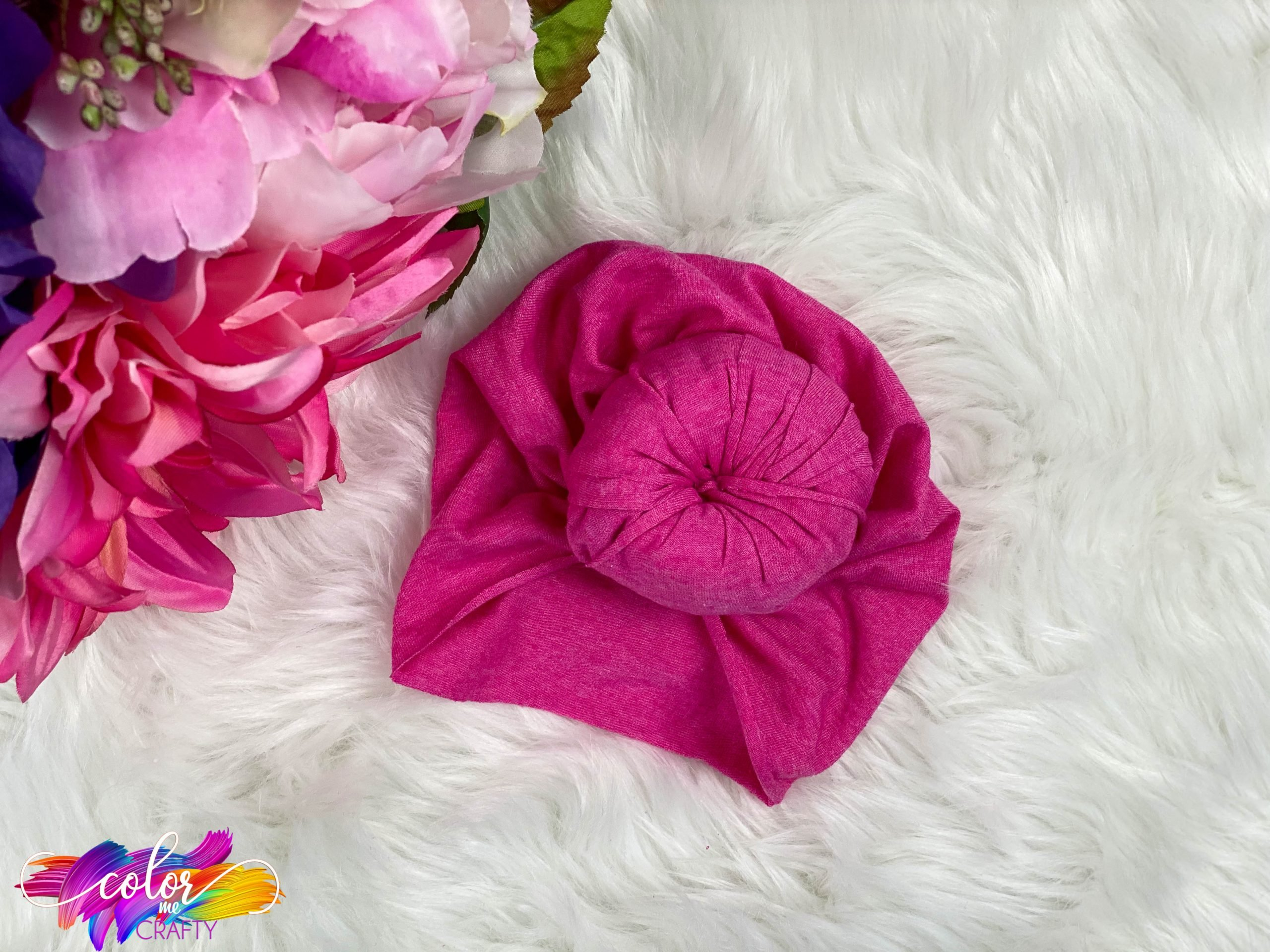 baby headwrap craft