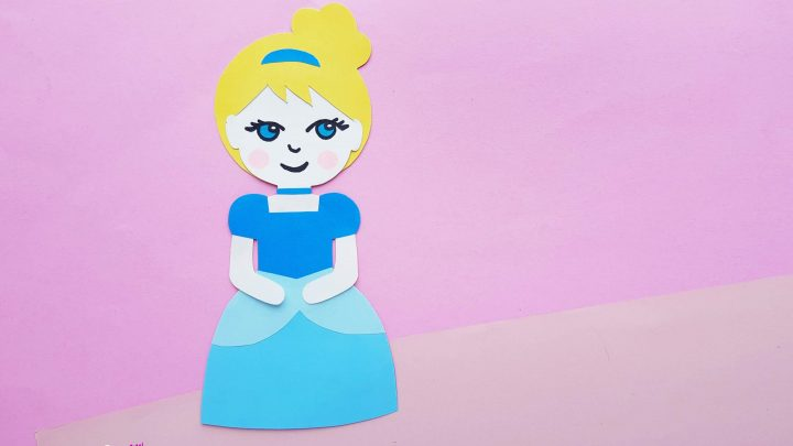 paper doll craft princess