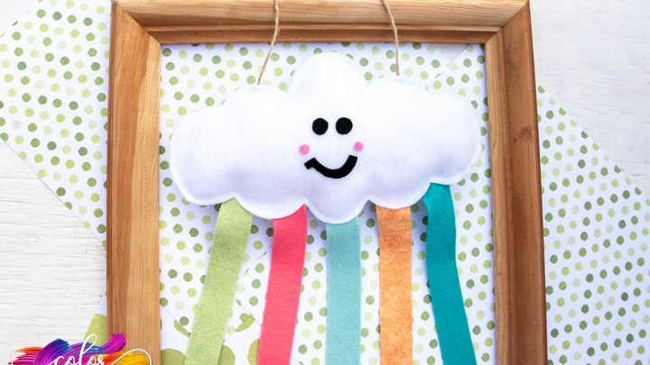 felt cloud that hangs