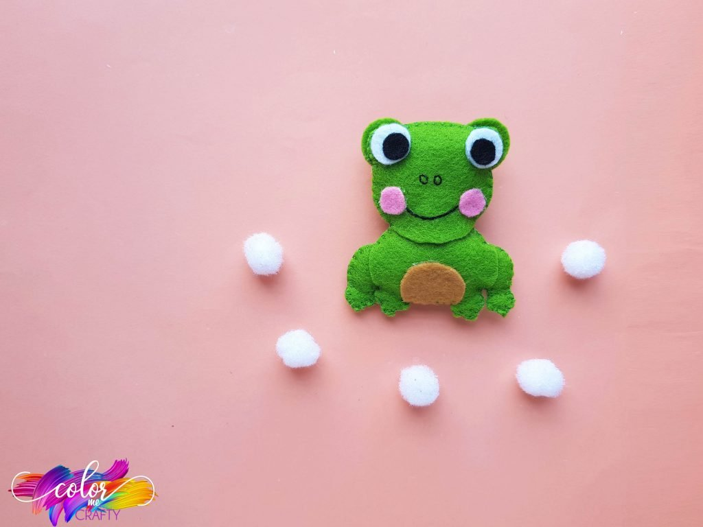 frog from fabric